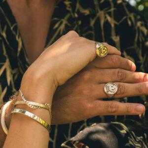 King & Queen Rings (2 pcs)